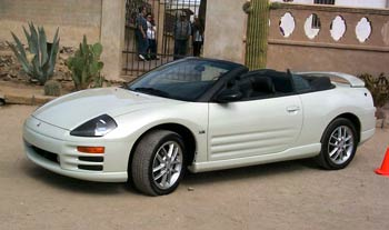 Tirekicking Today Preview Drive 2001 Mitsubishi Eclipse Spyder Convertible